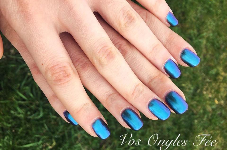 Réalisation Vos Ongles Fée - Nail Art - 00106